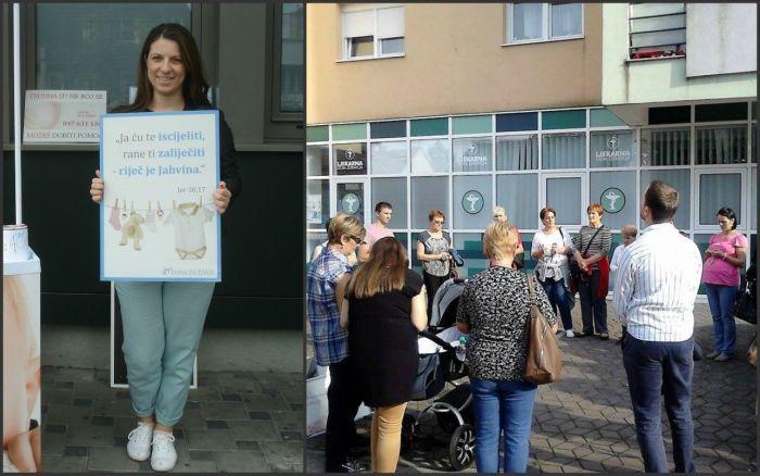 petra tišljarić 40 dana za život abortus