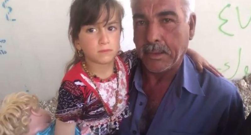 iračka kršćanka kristina nakon tri godine vraćena obitelji isil otmica