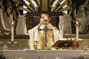 Sveta misa, liturgija, svećenik, euharistija