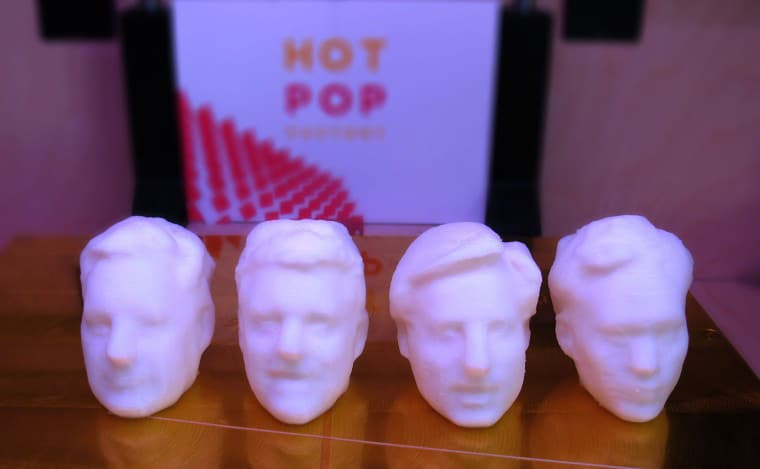 Personalized 3D Printed Pez Dispenser Featuring Your Own Head