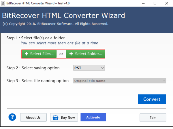 HTML Converter to Batch Export HTML Files in Various ...