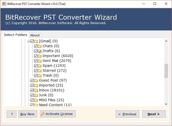 PST Bestand Converteren Software naar Exporteren Outlook ...