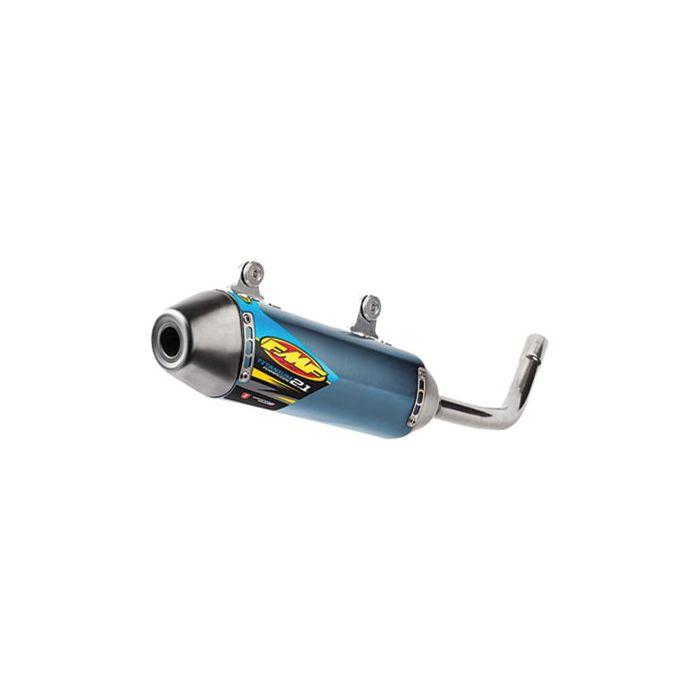 fmf powercore 2 1 titanium silencer yamaha yz125 02 17