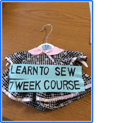 Learn To Sew Class 2018
