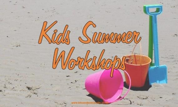 Kids summer craft workshops