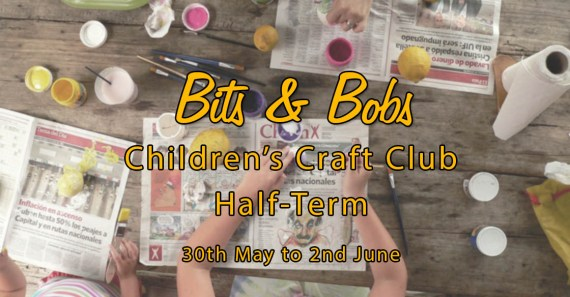 CHILDREN'S CRAFT CLUB SCHOOL HOLIDAYS 2017