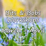 New Workshops for March to April 2018