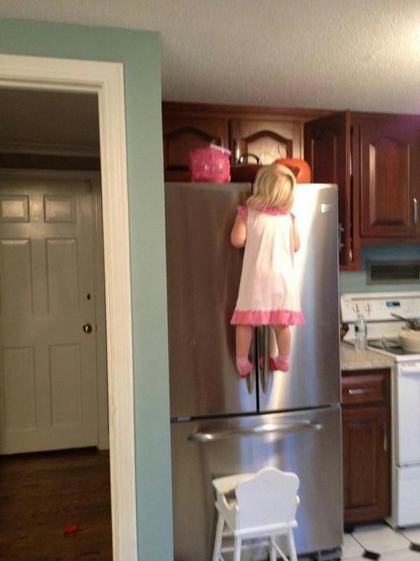 Kid fridge