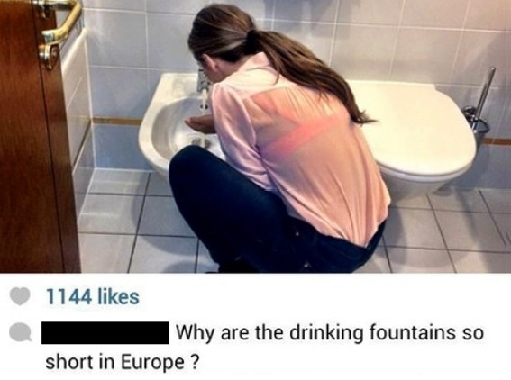 Drinking fountains in Europe