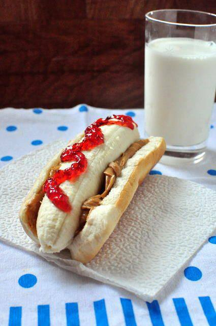 PBJ and banana dog