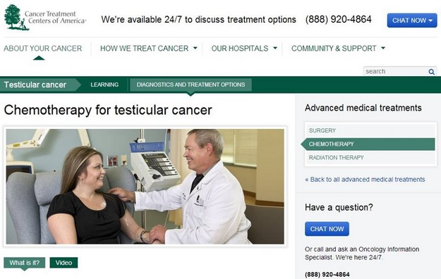 Chemo for testicular cancer