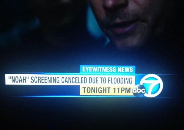 Noah flooded
