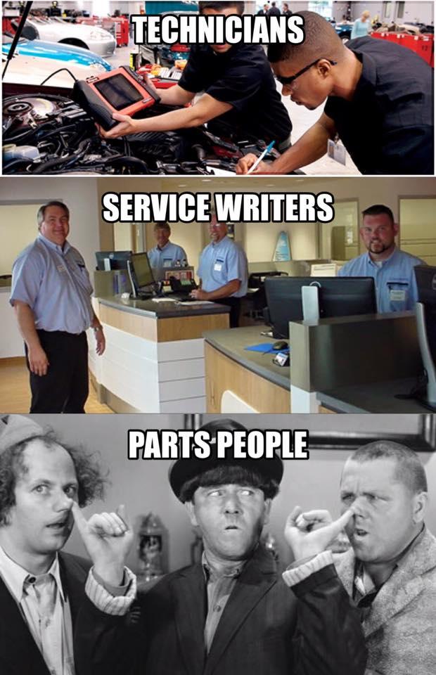 At auto dealer