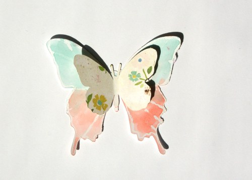 Crafting with Kids: Butterfly Garden