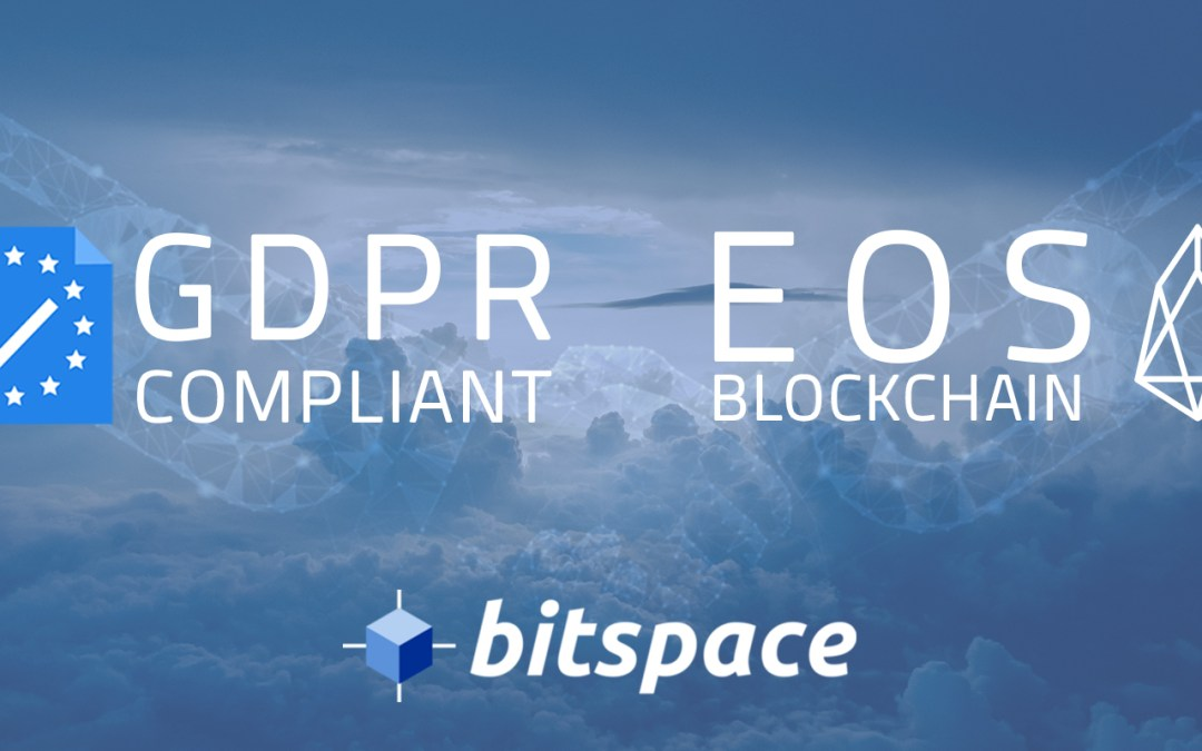 GDPR and EOS Pt. 1