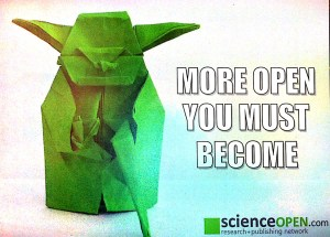 Wise Words from Master Yoda © ScienceOpen