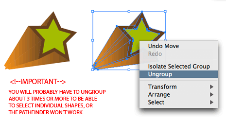 How to Make A 3D Vector Vintage Star