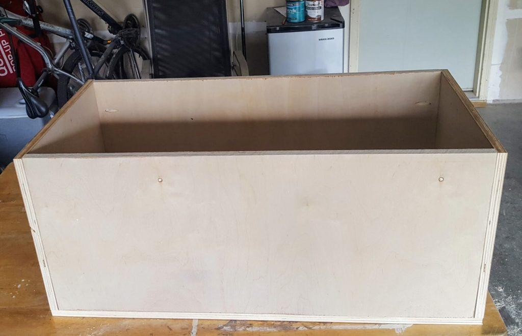 DIY Storage Chest Step 2b