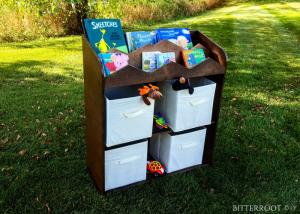 DIY Bookshelf and Toy Storage