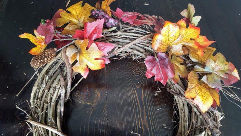 DIY Simple Fall Wreath
