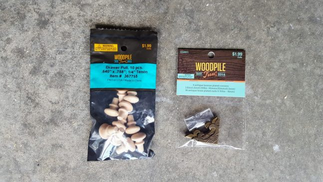 woodpile fun accessories