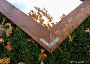 DIY Rustic Industrial Mirror