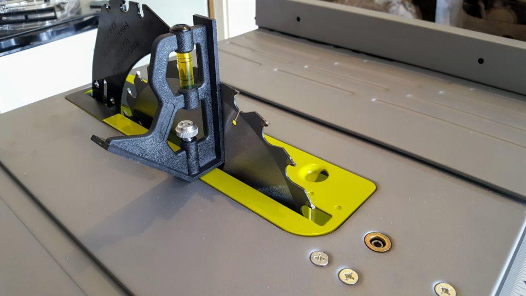 vertical bevel adjustment