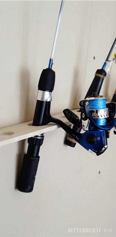 Ice Fishing Rod Rack
