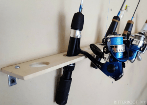 Ice Fishing Rod Rack