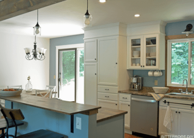 how to extend cabinets to the ceiling