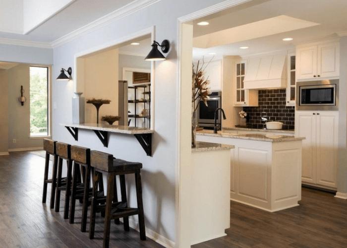 Modern Rustic Kitchen Design Inspiration