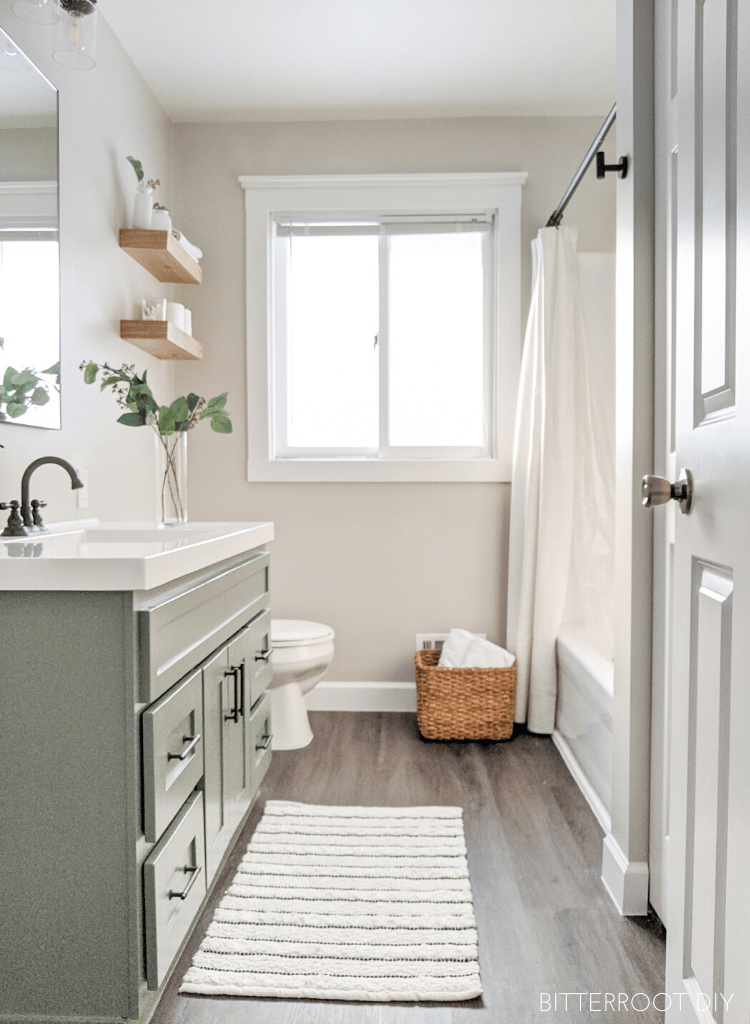 DIY Modern Farmhouse Bathroom Renovation - The Reveal on Modern Farmhouse Shower  id=12204