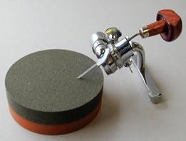 'Crocker' sharpener, available from McClain's