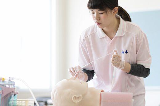 医療的分野もしっかり学び質の高い介護福祉士として活躍