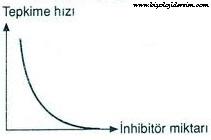 inhibitörler reaksiyonu yavaşlatır