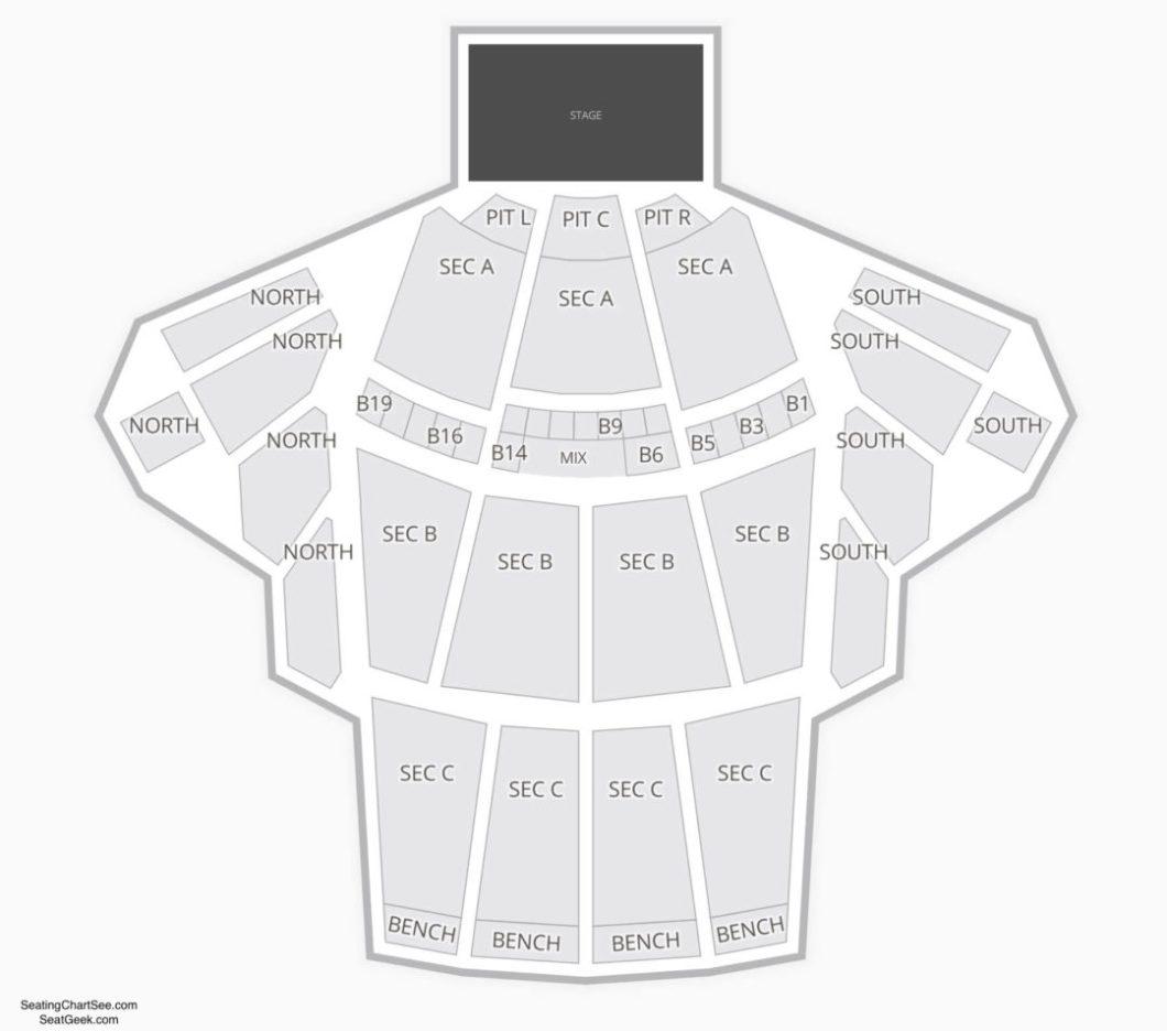 Seating Chart Greek Theatre Wallseat Co