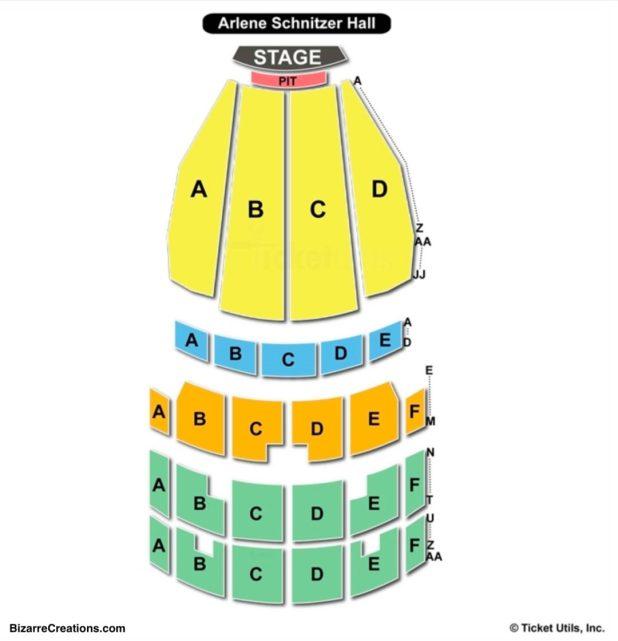Braun Hall Concert Seating Chart Von