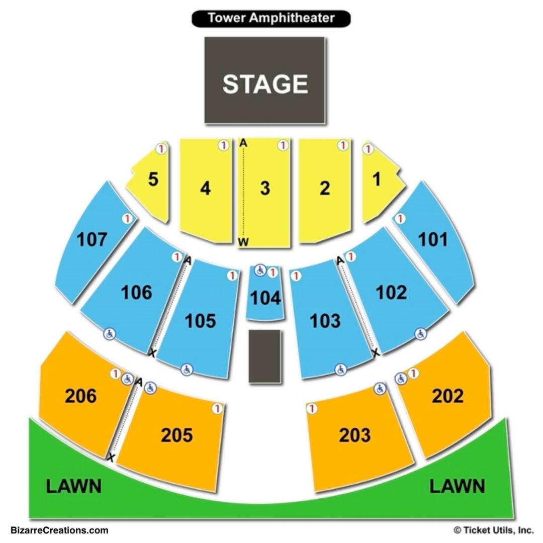 Darien Lake Seating Chart Seat Numbers