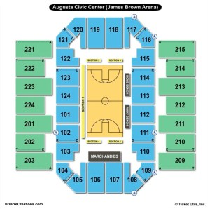 James Brown Arena Seating Chart | Seating Charts & Tickets
