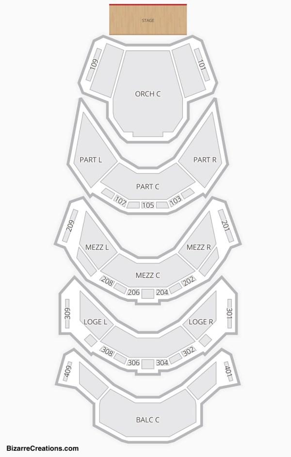 Ellie Caulkins Opera House Seating Chart | Seating Charts ...