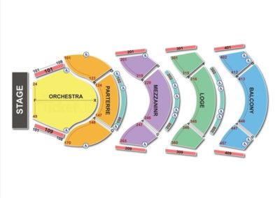 Ellie Caulkins Opera House Seating Chart   Seating Charts ...