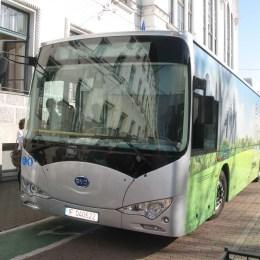 "Autobuzul electric a rămas ""prizonier"" la Suceava, în drum spre Braşov"