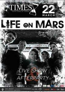 times life on mars
