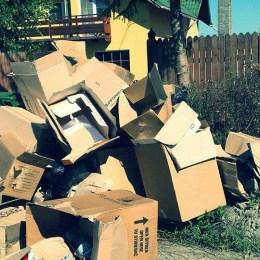 Amenzi de 7.650 de lei, într-o singură săptămână, pentru cei care şi-au aruncat gunoiul aiurea