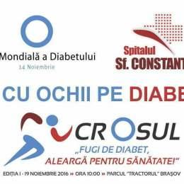 """Unul din doi diabetici este nediagnosticat: Spitalul Sf. Constantin lansează campania """"Fii cu ochii pe diabet!"""""""