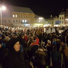 VIDEO Filmul-simbol al protestelor de la Brașov