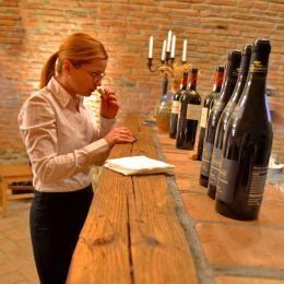 """Degustare de vinuri organizată de Lady sommelier independent Magdalena Crişan. """"Best of Fetească Neagră"""""""