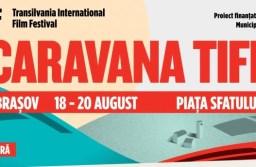Încep proiecțiile Caravanei TIFF în Piața Sfatului
