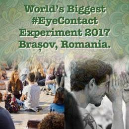 Experiment vizual pentru a readuce sentimentul de umanitate la Brașov. Puteți privi în ochi, timp de un minut, un necunoscut