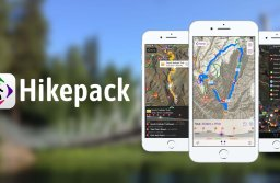 Hărți montane și turistice, care acoperă și traseele din jurul Brașovului, pot fi descărcate de pe aplicație Hikepack